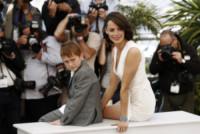 Abdul Khalim Mamutsiev, Berenice Bejo - Cannes - 21-05-2014 - Cannes 2014: Hazanavicius un polpo al photocall di The Search