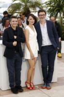 Thomas  Langmann, Michel Hazanavicius, Berenice Bejo - Cannes - 21-05-2014 - Cannes 2014: Hazanavicius un polpo al photocall di The Search