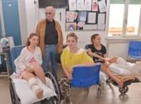 Gino Paoli - Genova - 22-05-2014 - Jovanotti, concerto a sorpresa per i piccoli pazienti del Meyer