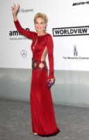 Sharon Stone - Cannes - 22-05-2014 - Le star che sanno osare: sensualità over 50 sul red carpet