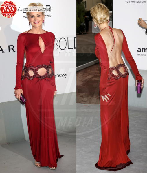 Sharon Stone - Cannes - 23-05-2014 - Le star che sanno osare: sensualità over 50 sul red carpet