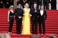 John Travolta, Quentin Tarantino, Uma Thurman - Cannes - 23-05-2014 - Cannes 2014:Tarantino-Thurman ballano Pulp Fiction 20 anni dopo
