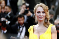 Uma Thurman - Cannes - 23-05-2014 - Cannes 2014:Tarantino-Thurman ballano Pulp Fiction 20 anni dopo