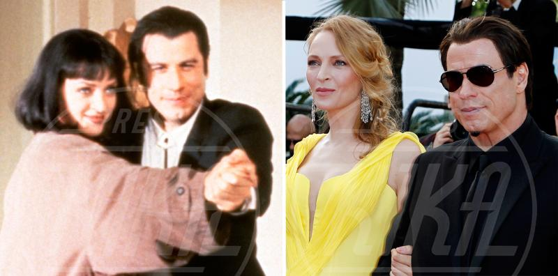 John Travolta, Uma Thurman - Pulp Fiction ieri e oggi: i protagonisti a distanza di 20 anni