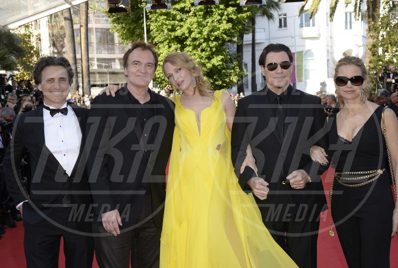 John Travolta, Quentin Tarantino, Uma Thurman - Cannes - 23-05-2014 - Pulp Fiction ieri e oggi: i protagonisti a distanza di 20 anni