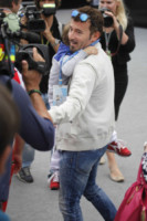 Leon Alexandre Biaggi, Max Biaggi - Monaco - 25-05-2014 - Gli auguri speciali di Bianca Atzei a Max Biaggi