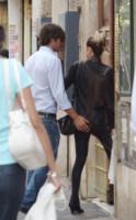 Myriam Catania, Luca Argentero - Roma - 27-05-2014 - Kessie, palpatina a Papu Gomez: