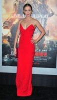 Emily Blunt - New York - 28-05-2014 - Vuoi essere vincente? Vestiti di rosso