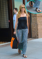 Heidi Klum - New York - 29-06-2013 - Estate 2019: impossibile rinunciare alle infradito