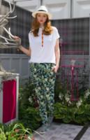 Lily Cole - Londra - 19-05-2014 - In primavera ed estate, mettete dei fiori… sui pantaloni!