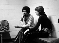 Jimi Hendrix, Mick Jagger - Los Angeles - 30-05-2014 - Jimi Hendrix, la sua casa è diventata un museo