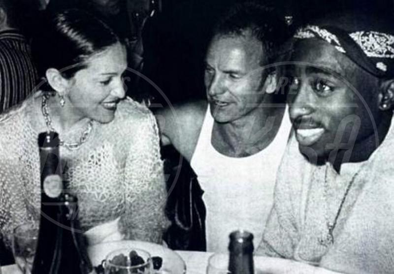 Tupac, Madonna, Sting - Los Angeles - 30-05-2014 - Buon compleanno Madonna, 56 anni sulla cresta dell'onda