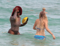 Caroline Wozniacki, Serena Williams - Miami - 01-06-2014 - Matrimonio a sorpresa per Serena Williams