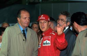 Juan Carlos  di Spagna, Michael Schumacher - 13-05-1955 - Michael Schumacher, Bunte magazine:
