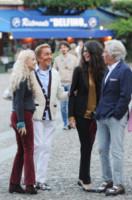 Valentino, Afef, Franca Sozzani, Giancarlo Giammetti - Portofino - 01-06-2014 - Sarà presentato a Venezia il film sulla vita di Franca Sozzani