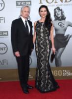 Catherine Zeta Jones, Michael Douglas - Hollywood - 05-06-2014 - Jane Fonda riceve il premio alla carriera dall'AFI