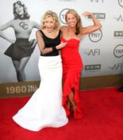 Denise Austin, Jane Fonda - Los Angeles - 05-06-2014 - Jane Fonda riceve il premio alla carriera dall'AFI