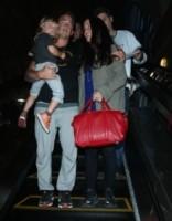 Ever Morissette-Treadway, Mario Treadway, Alanis Morissette - Los Angeles - 06-06-2014 - Alanis Morissette è diventata mamma per la terza volta