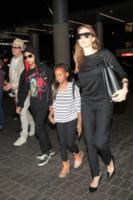 Maddox Jolie Pitt, Zahara Jolie Pitt, Angelina Jolie, Brad Pitt - Los Angeles - 06-06-2014 - Un anno senza Brangelina: parla Brad Pitt