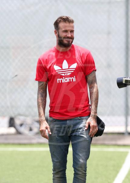 David Beckham - Miami - 07-06-2014 - Barba Natale: se a consegnare i regali fosse un sexy lui