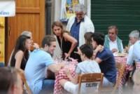 Davide Grillo, Rocco Grillo, Ciro Grillo, Luna Grillo, Parvin Grillo, Beppe Grillo - Portofino - 09-06-2014 - Beppe Grillo: dopo le sconfitte niente è meglio della famiglia