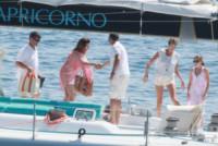 Gian Gerolamo Carraro, Simona Ventura - Portofino - 07-06-2014 - Per Simona Ventura è già tempo di vacanze al mare