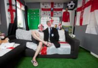 Ben Rogers - 09-06-2014 - Mondiali di Calcio 2014: in questa casa si tifa Inghilterra!