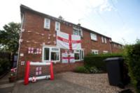Casa - 09-06-2014 - Mondiali di Calcio 2014: in questa casa si tifa Inghilterra!