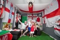 Luci Rogers, Toni Rogers, Charlie Rogers, Ben Rogers - 09-06-2014 - Mondiali di Calcio 2014: in questa casa si tifa Inghilterra!
