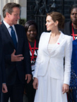 Angelina Jolie - Londra - 10-06-2014 - Angelina Jolie: chiamatemi pure Dame