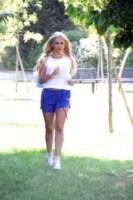 Veronica Graf - Milano - 10-06-2014 - È arrivato il caldo: gambe al fresco con gli shorts!