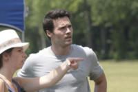 Brett Dalton - Firenze - 11-06-2014 - Brett Dalton si dà al calcio (storico) per The Tourist
