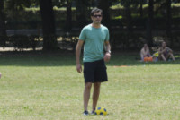 Marco Bonini - Firenze - 11-06-2014 - Brett Dalton si dà al calcio (storico) per The Tourist