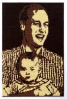 Principe George, Principe William - Regno Unito - 12-06-2014 - Il Principe William e baby George immortalati…nel cioccolato!