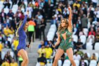 Claudia Leitte, Jennifer Lopez - San Paolo - 12-06-2014 - Brasile 2014: J-Lo si scatena alla cerimonia d'apertura
