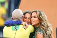 Claudia Leitte, Pitbull, Jennifer Lopez - San Paolo - 12-06-2014 - Brasile 2014: J-Lo si scatena alla cerimonia d'apertura