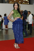Lea T - Milano - 12-06-2014 - Top Crop & company: pancini al vento sul red carpet