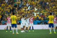 Fred Chaves Guedes, Thiago Silva - San Paolo - 12-06-2014 - Brasile, buona la prima…con l'aiutino