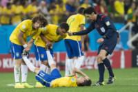 David Luiz, Oscar - San Paolo - 12-06-2014 - Brasile, buona la prima…con l'aiutino