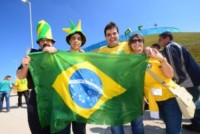 Tifosi Brasile - San Paolo - 17-07-2012 - Brasile, buona la prima…con l'aiutino