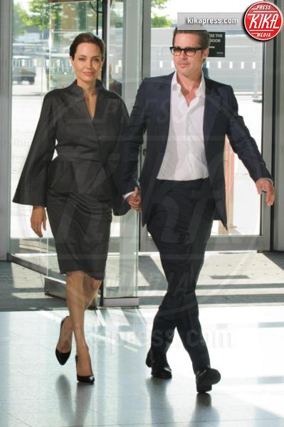 Angelina Jolie, Brad Pitt - Londra - 13-06-2014 - Un anno senza Brangelina: parla Brad Pitt