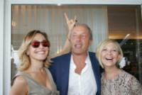Francesco de Angelis, Serena Albano, Barbara D'Urso - Napoli - 13-06-2014 - Barbara D'Urso a Napoli: B è come bacio