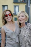 Serena Albano, Barbara D'Urso - Napoli - 13-06-2014 - Barbara D'Urso a Napoli: B è come bacio