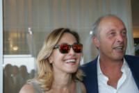 Francesco de Angelis, Barbara D'Urso - Napoli - 13-06-2014 - Barbara D'Urso a Napoli: B è come bacio
