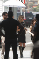 Kate Moss - Roma - 13-06-2014 - Kate Moss, set all'aperto a Tiburtina