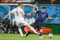 Torres, Robin Van Persie - SALVADOR - 13-06-2014 - Brasile 2014: Spagna annientata dall'Olanda