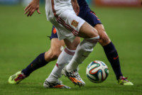 Jogadores - SALVADOR - 13-06-2014 - Brasile 2014: Spagna annientata dall'Olanda