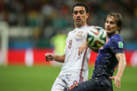 Xavi - SALVADOR - 13-06-2014 - Brasile 2014: Spagna annientata dall'Olanda