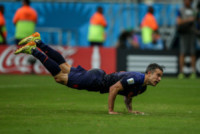 Robin Van Persie - SALVADOR - 13-06-2014 - Brasile 2014: Spagna annientata dall'Olanda