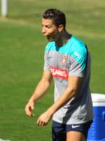 Cristiano Ronaldo - San Paolo - 12-06-2014 - Brasile 2014: allarme rientrato per Cristiano Ronaldo